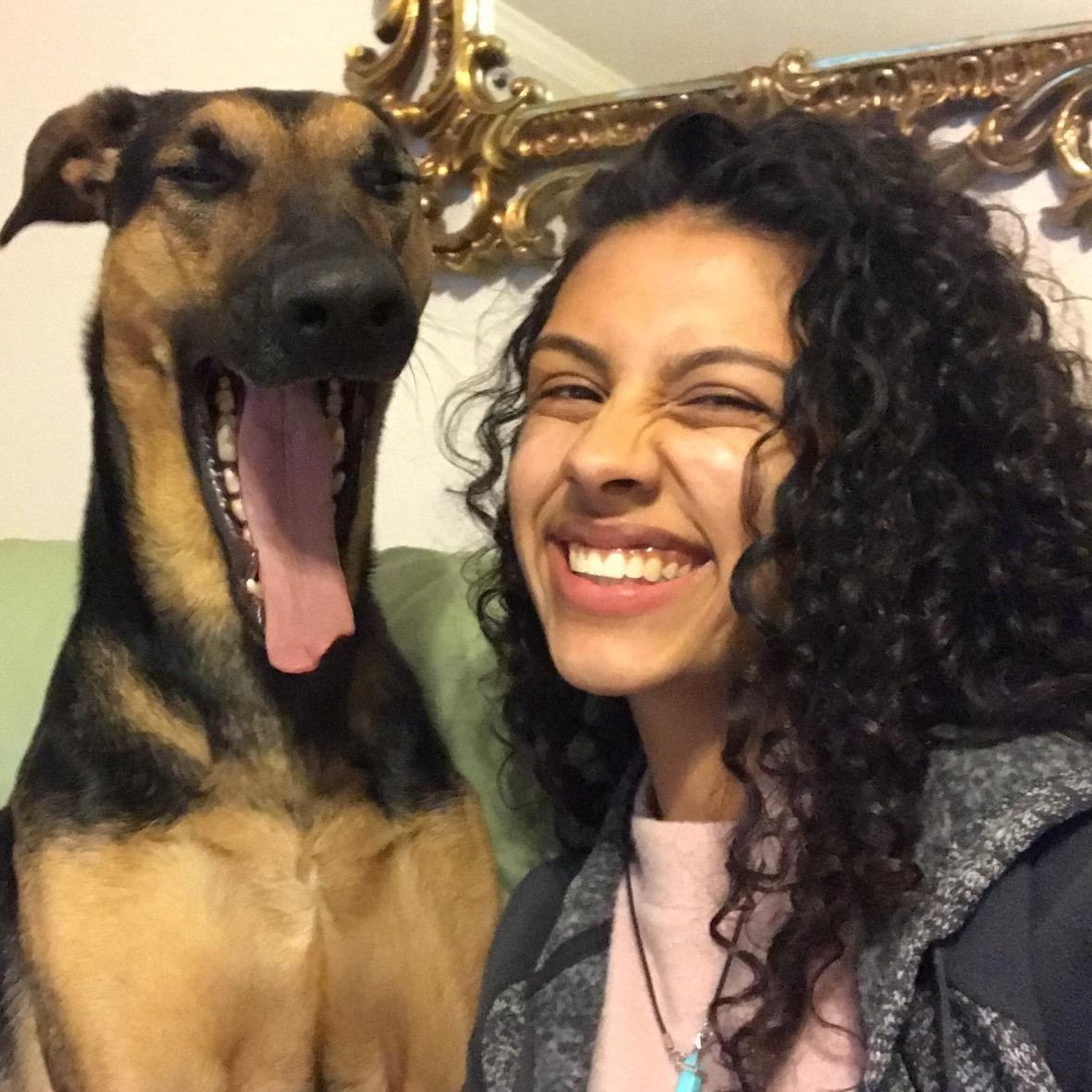 dog walker Bibiana
