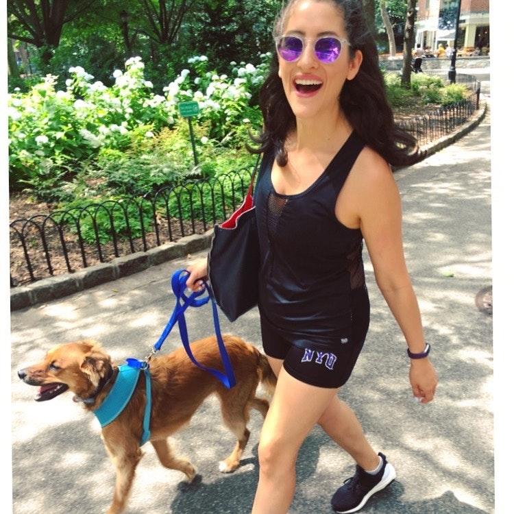 """dog walker Kristen """"Loulu"""""""