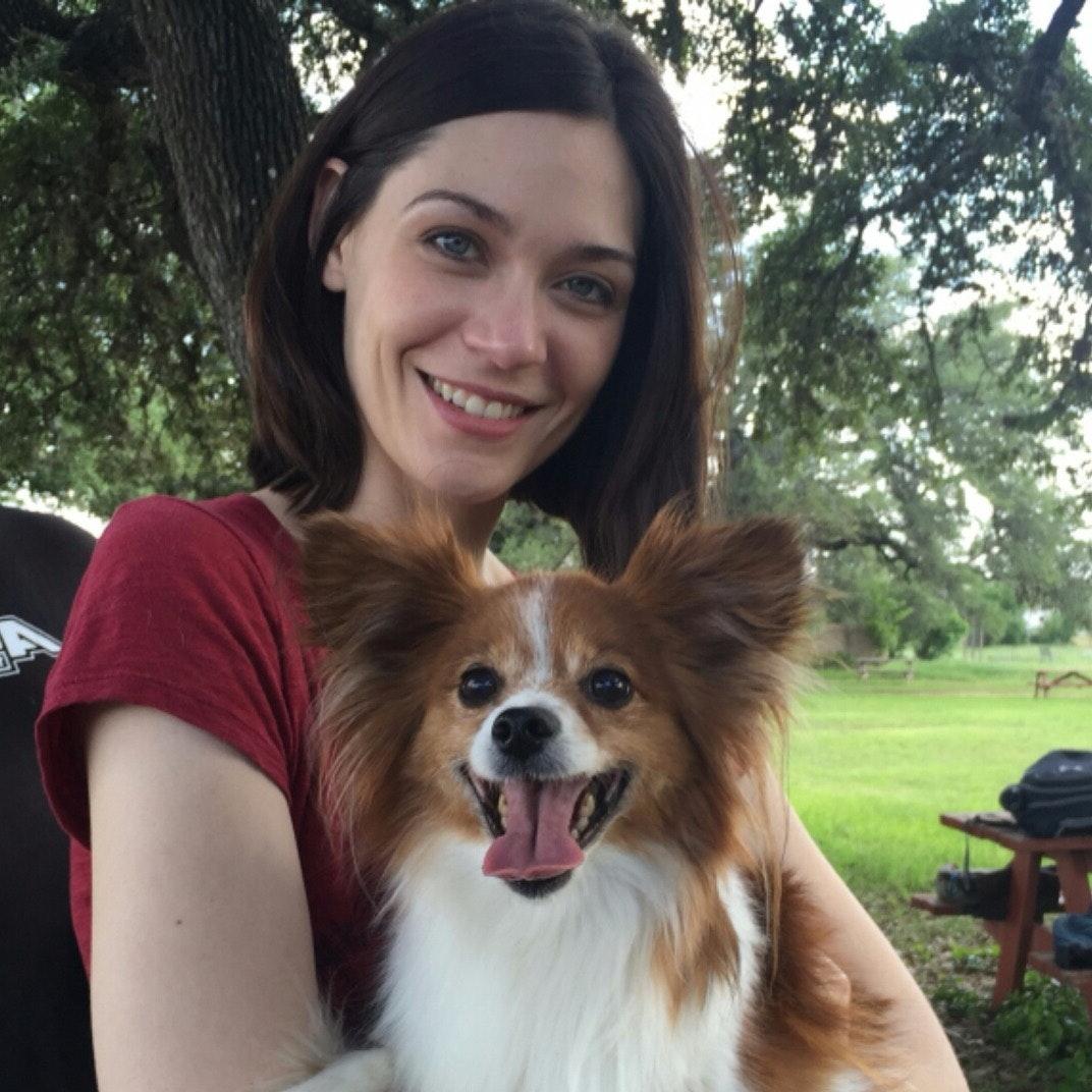 dog walker Veronica
