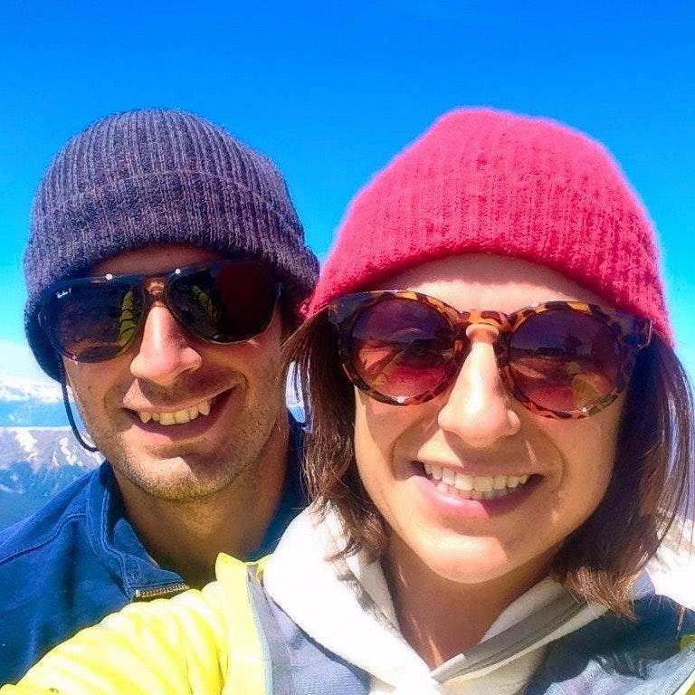 Masha and Frank D.