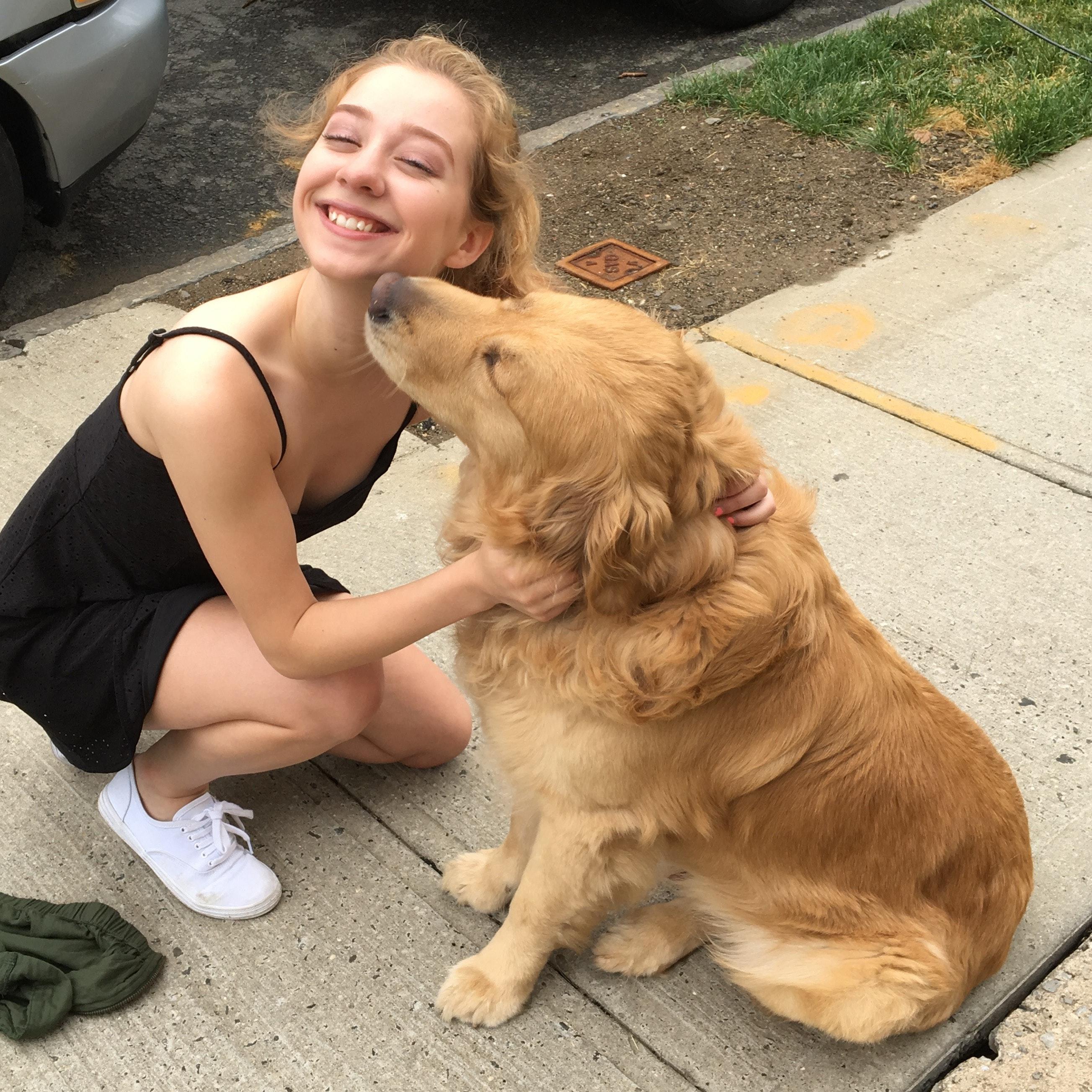dog walker Julianna