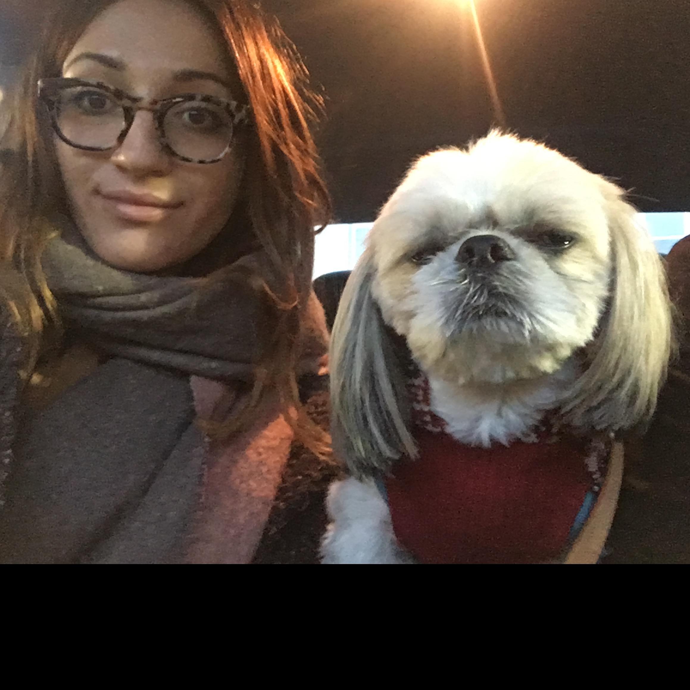 dog walker Tony L. and Danielle