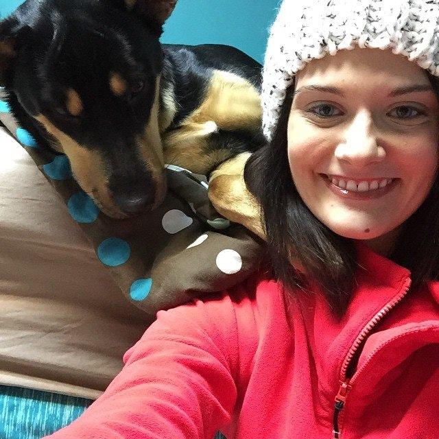 Taryn's dog boarding