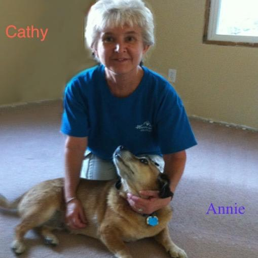 dog walker Cathy