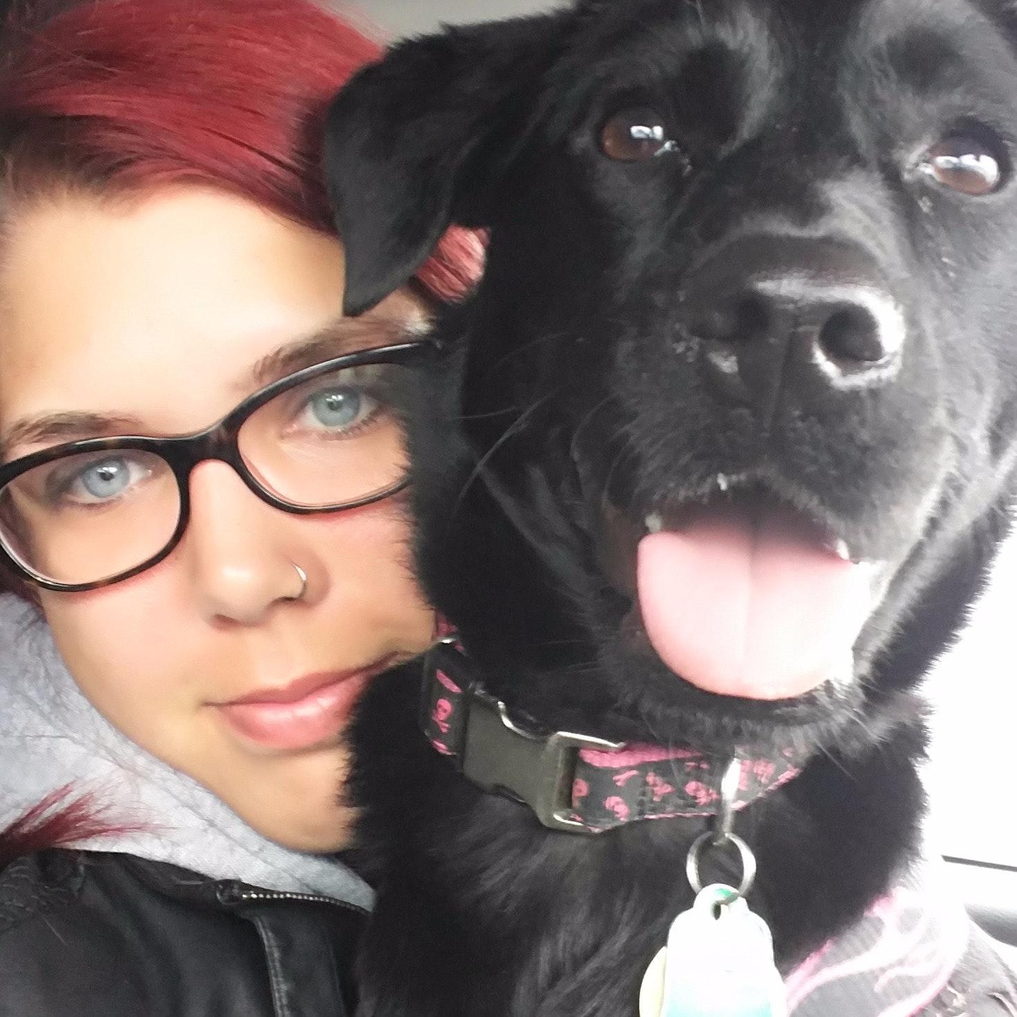 dog walker Shelly