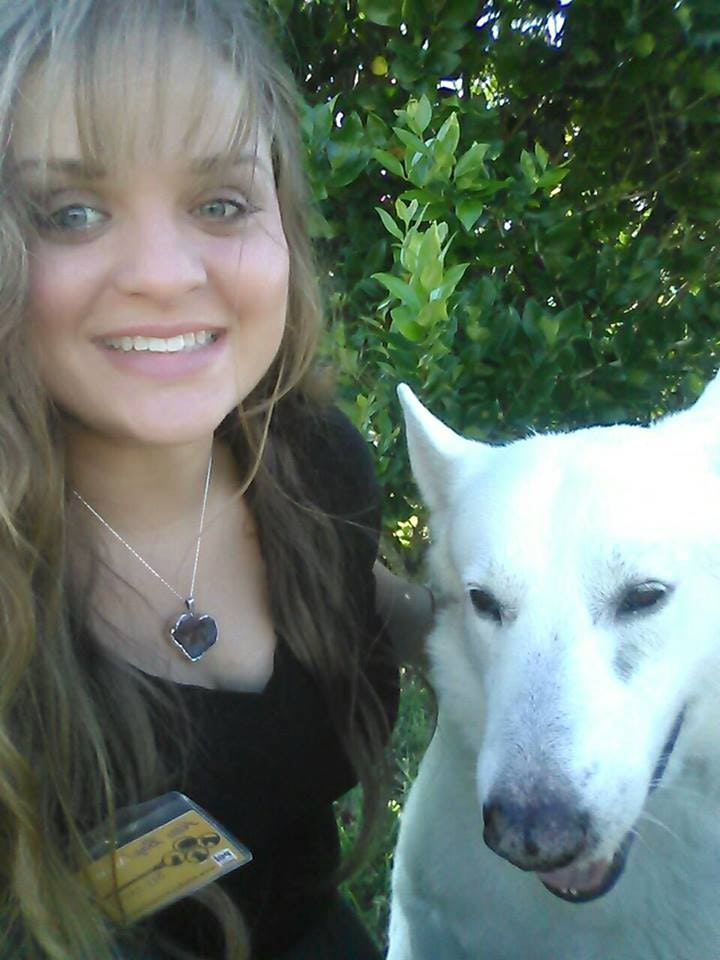 dog walker Amber
