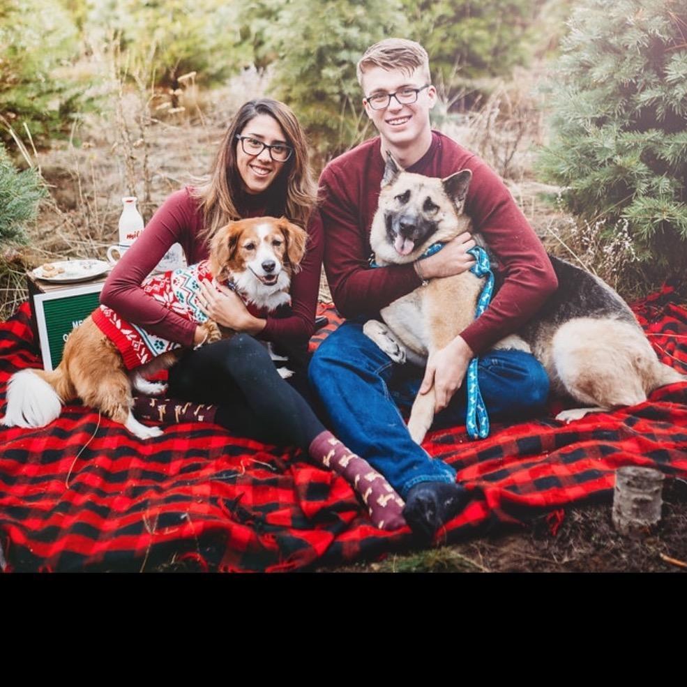 pet sitter Erika, Tyler, & Jathamiel
