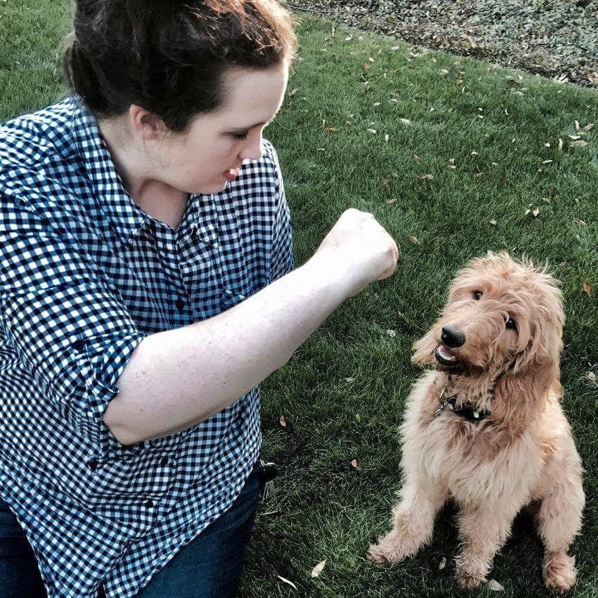 dog walker Beth