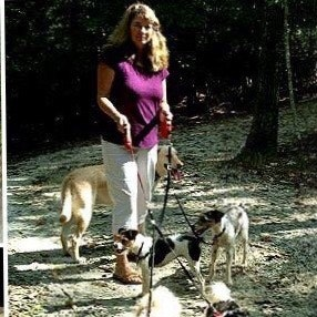 dog walker Kathy