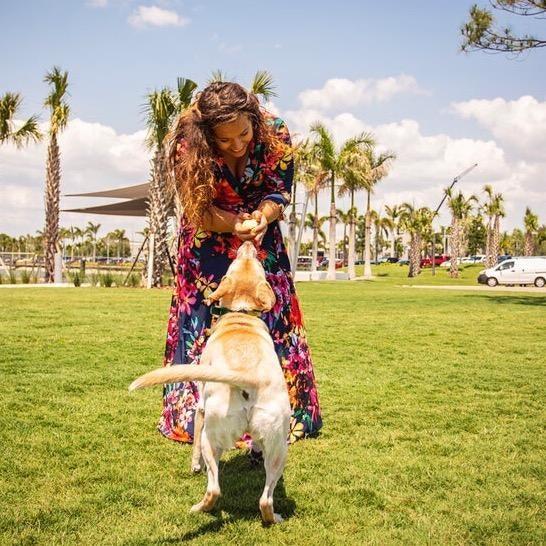Erick B. & Hilary's dog boarding