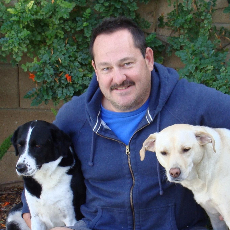 dog walker Lary Dean