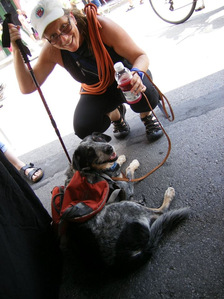 dog walker Lynne