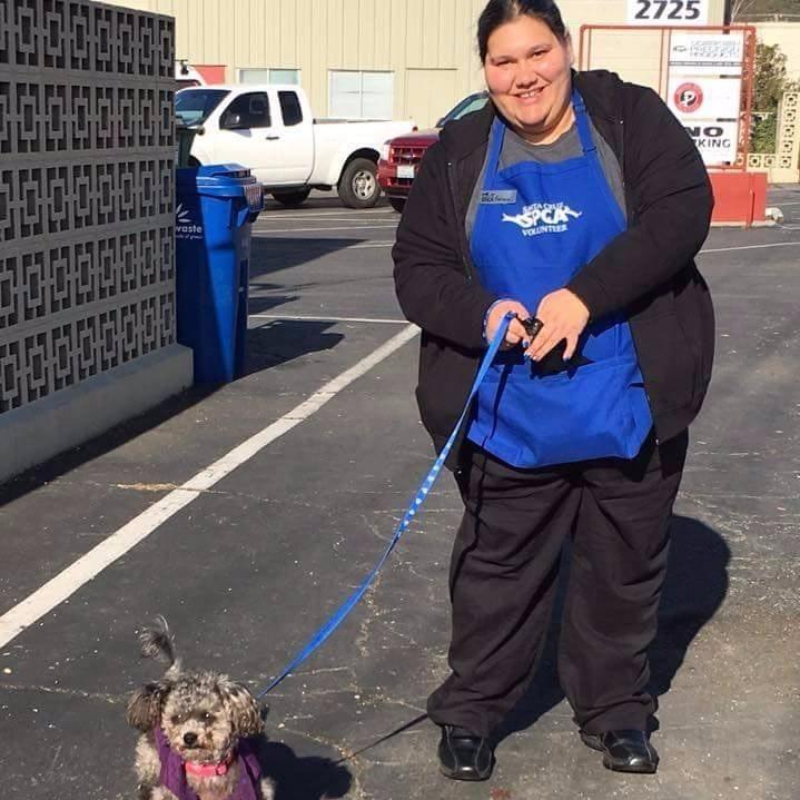 dog walker Felicia