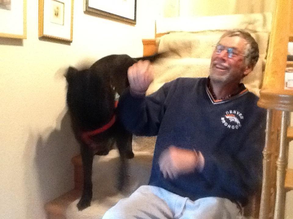 dog walker Gary
