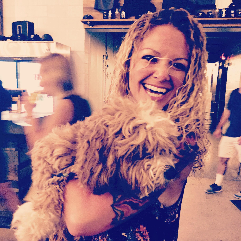 dog walker Kristin