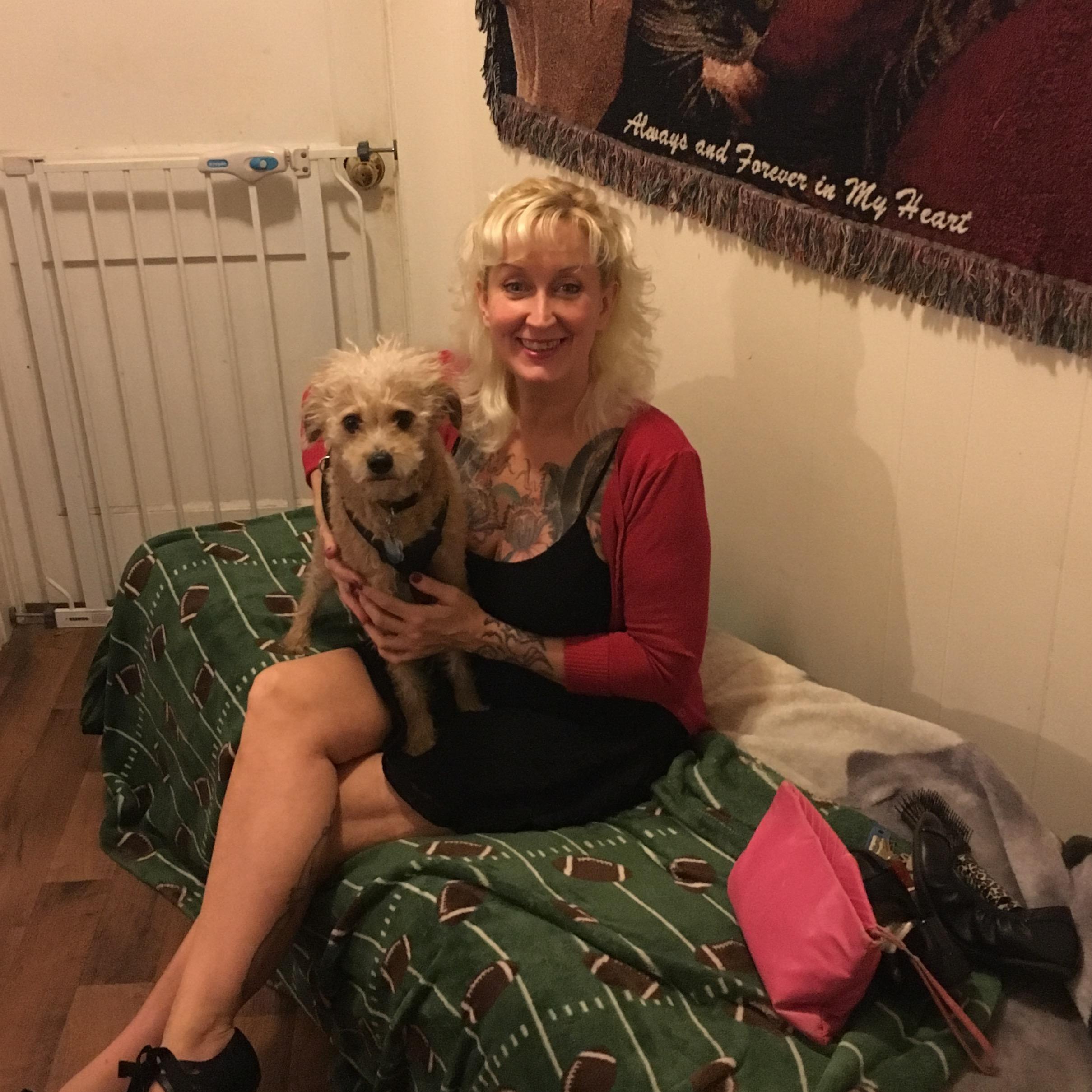 dog walker Corissa