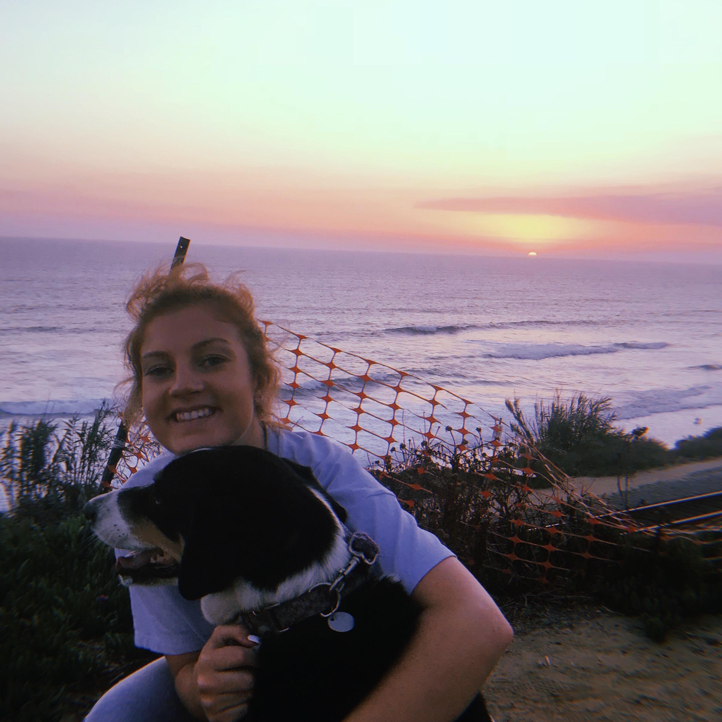 dog walker Tori
