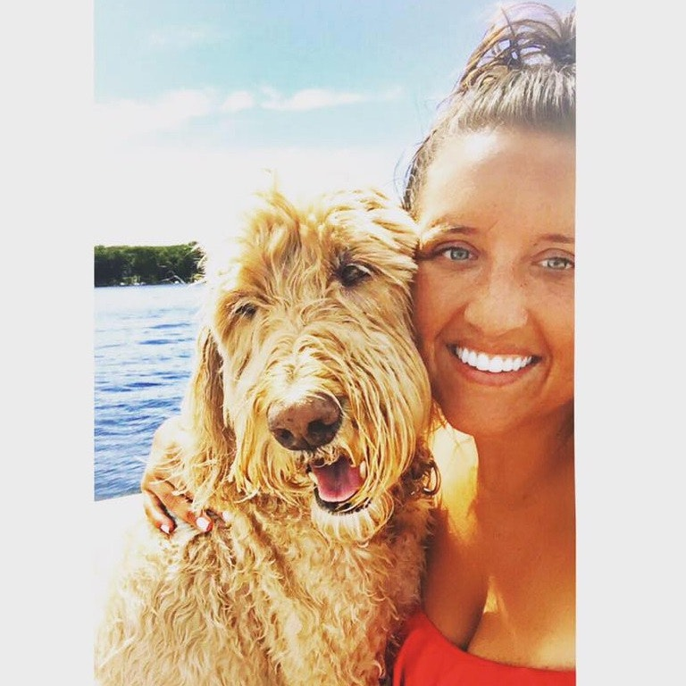 dog walker Lilly