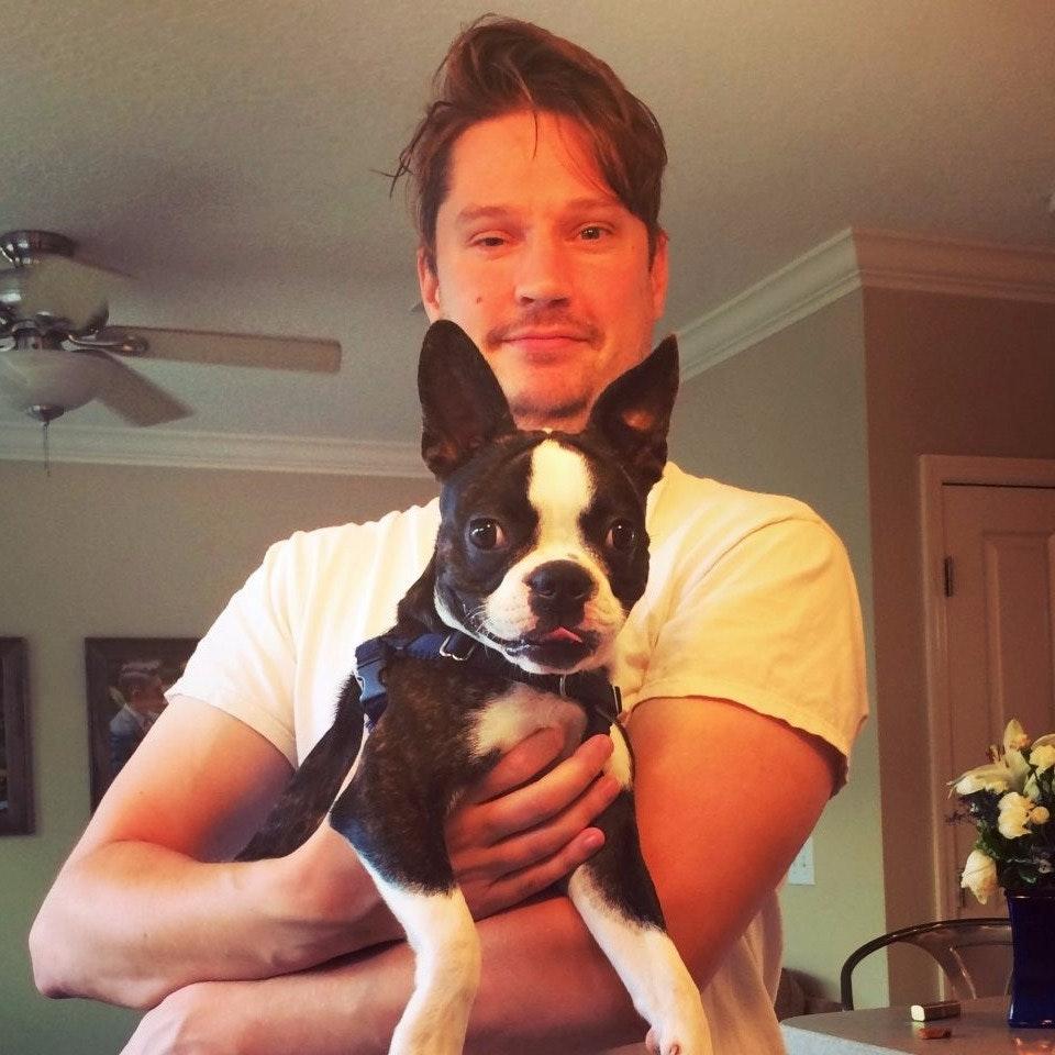 dog walker Patrick
