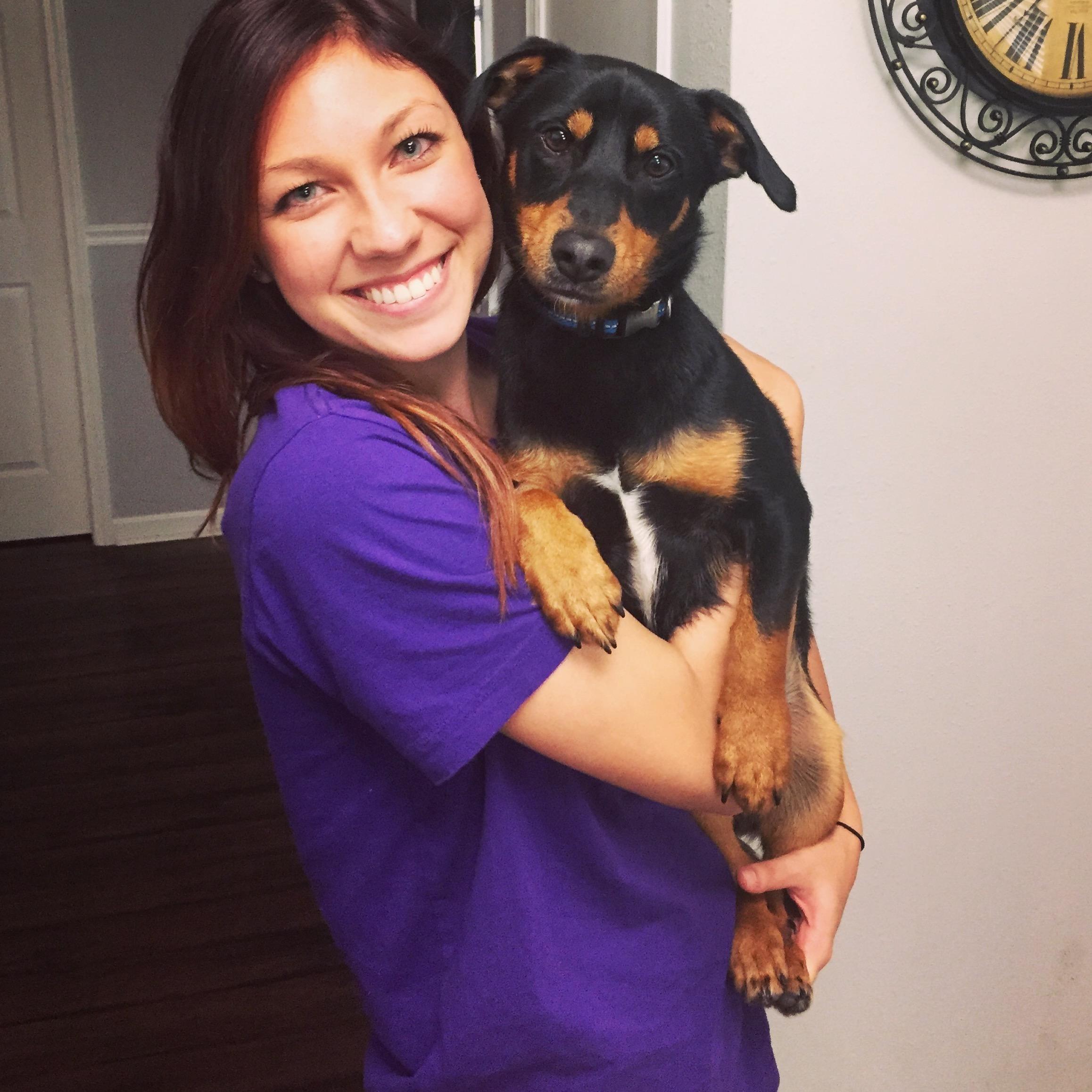 dog walker Shea