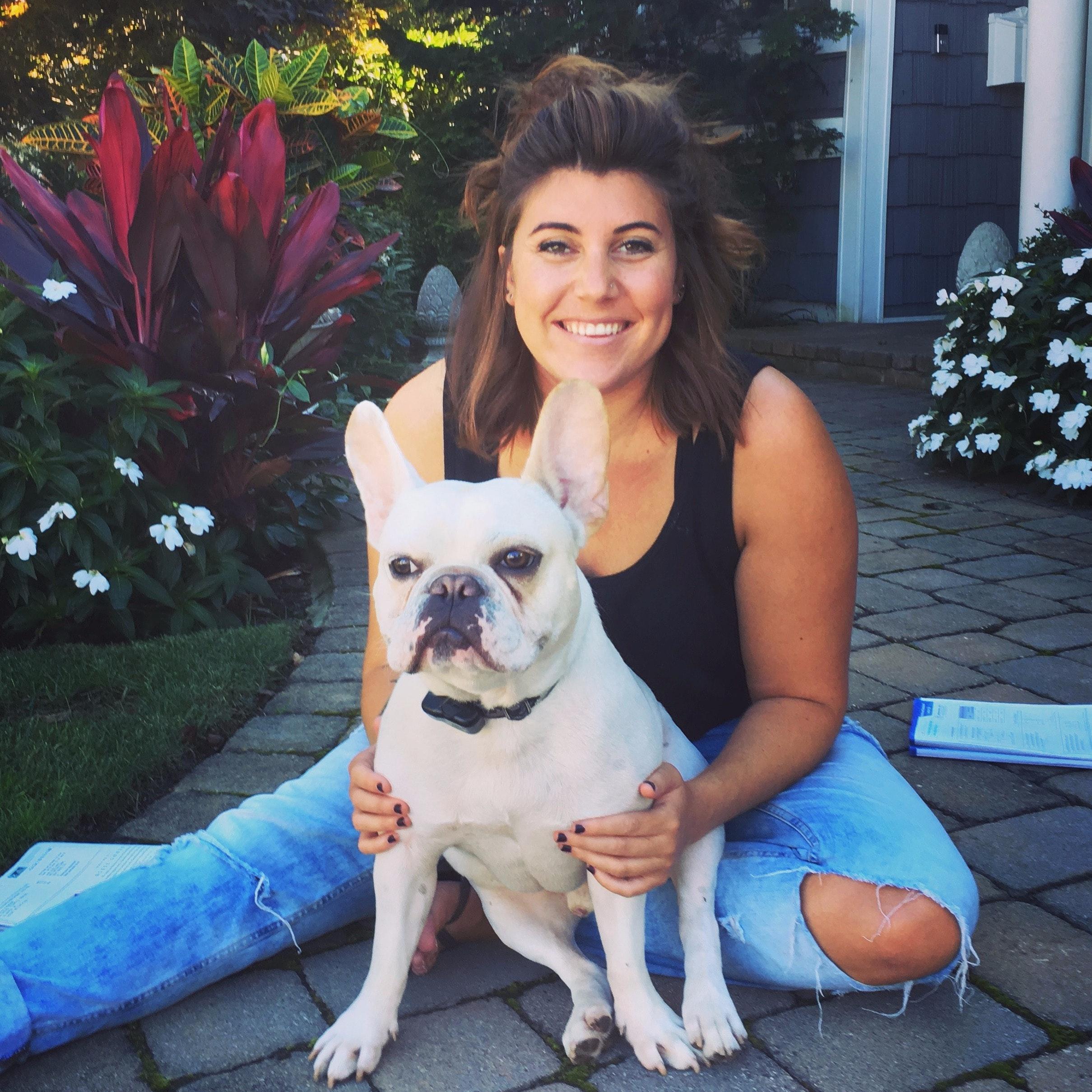 dog walker Trisha