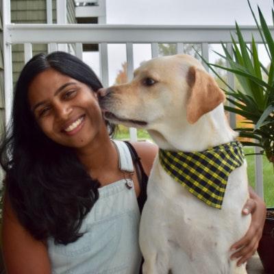 Rachana's dog boarding