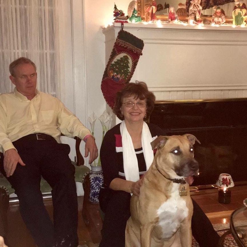 dog walker Brad & Mery