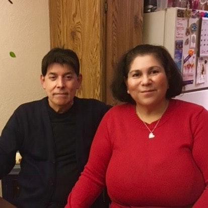 Rebecca and Raul M.
