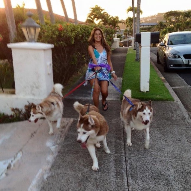 dog walker Stacey
