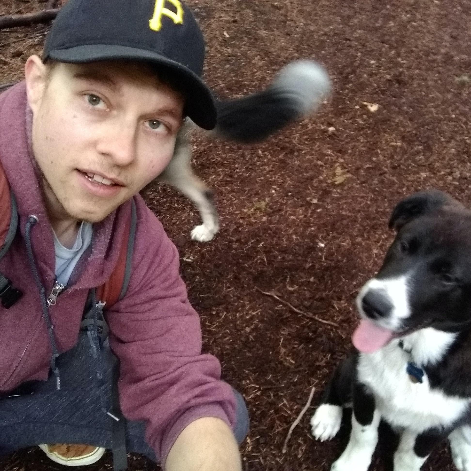 dog walker Kirk