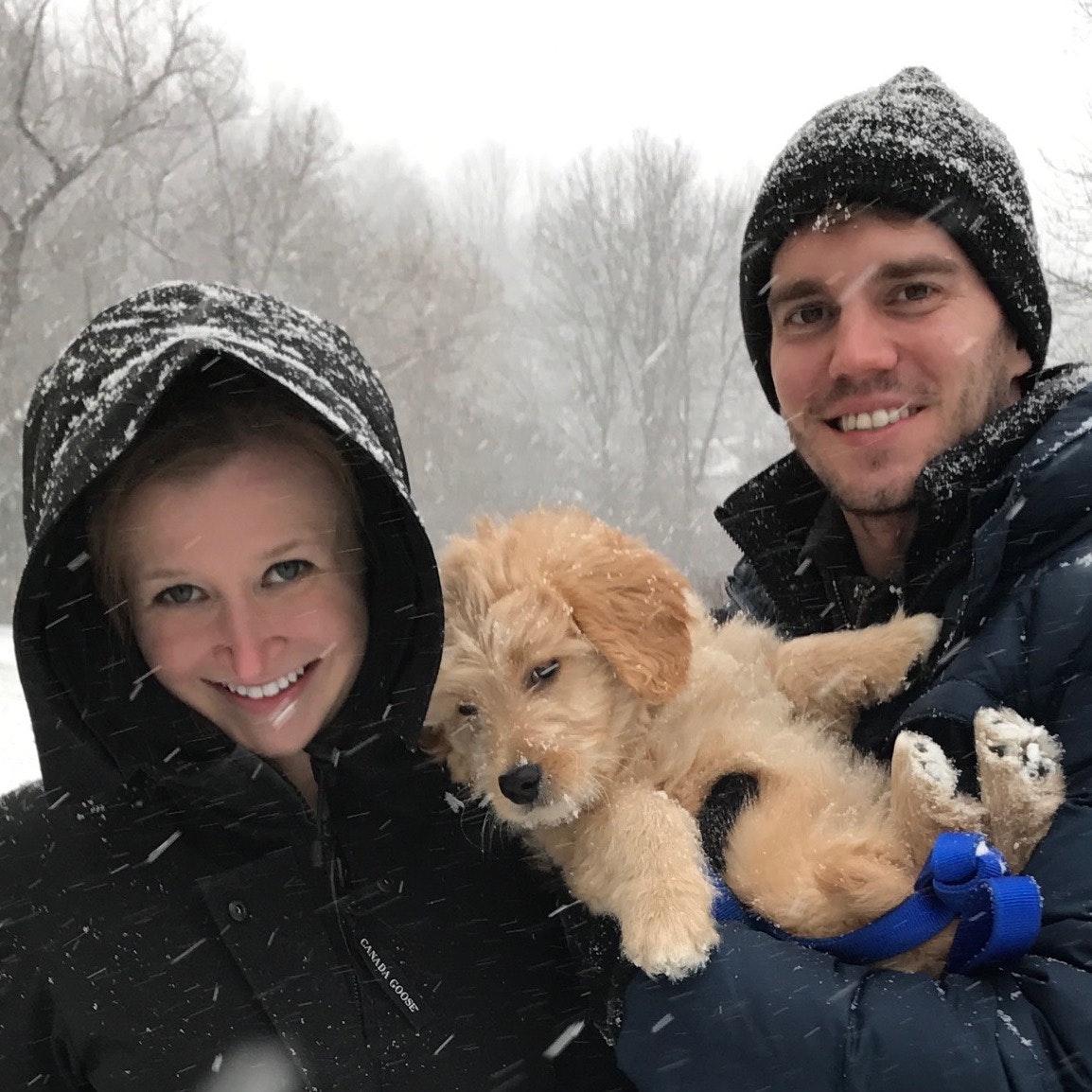 dog walker Mike & Melissa