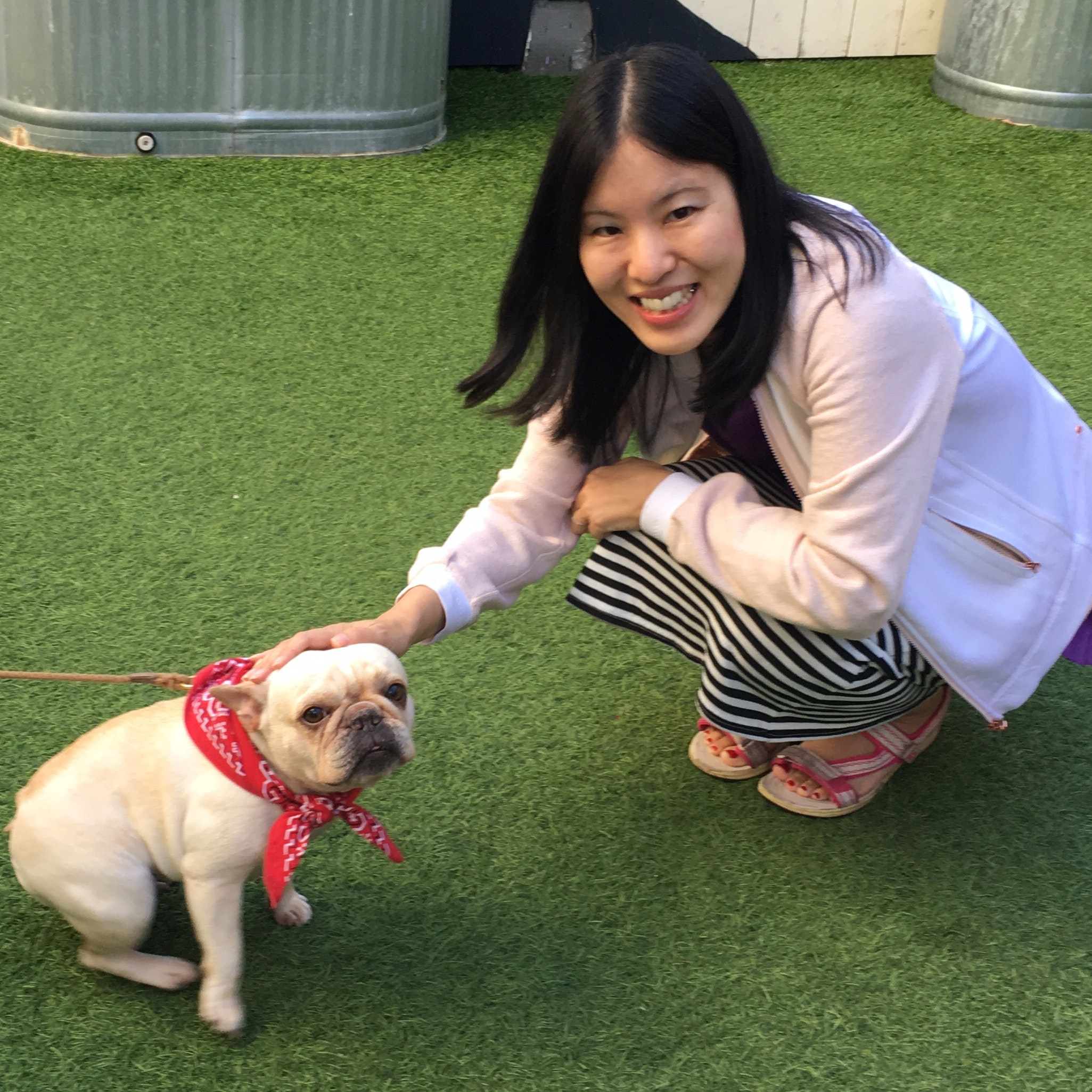 dog walker Megumi