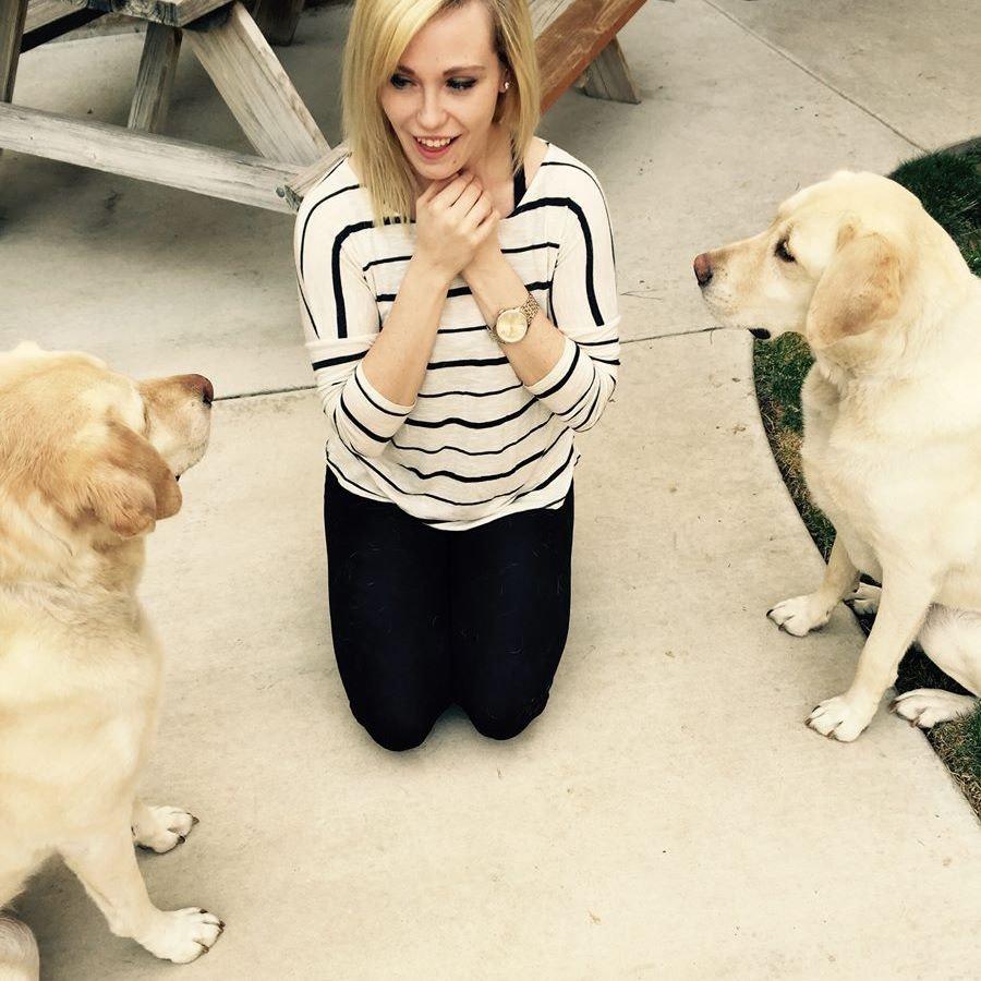 dog walker Ashleigh