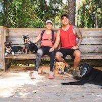 Yessica & Raymond's dog boarding