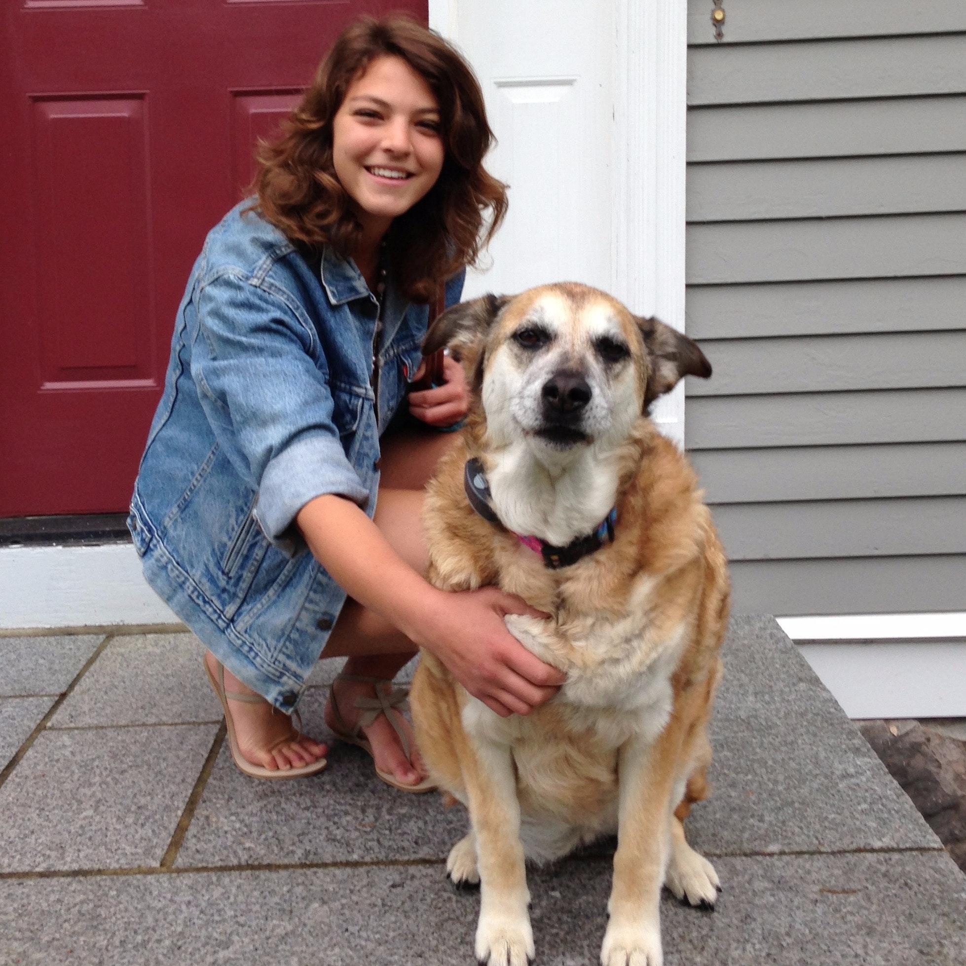 dog walker Sereena