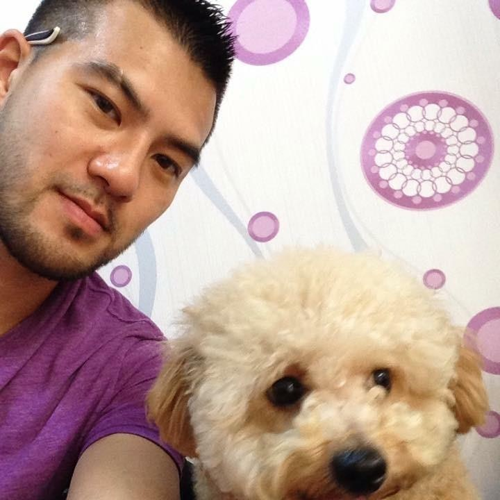 pet sitter Simon Yin