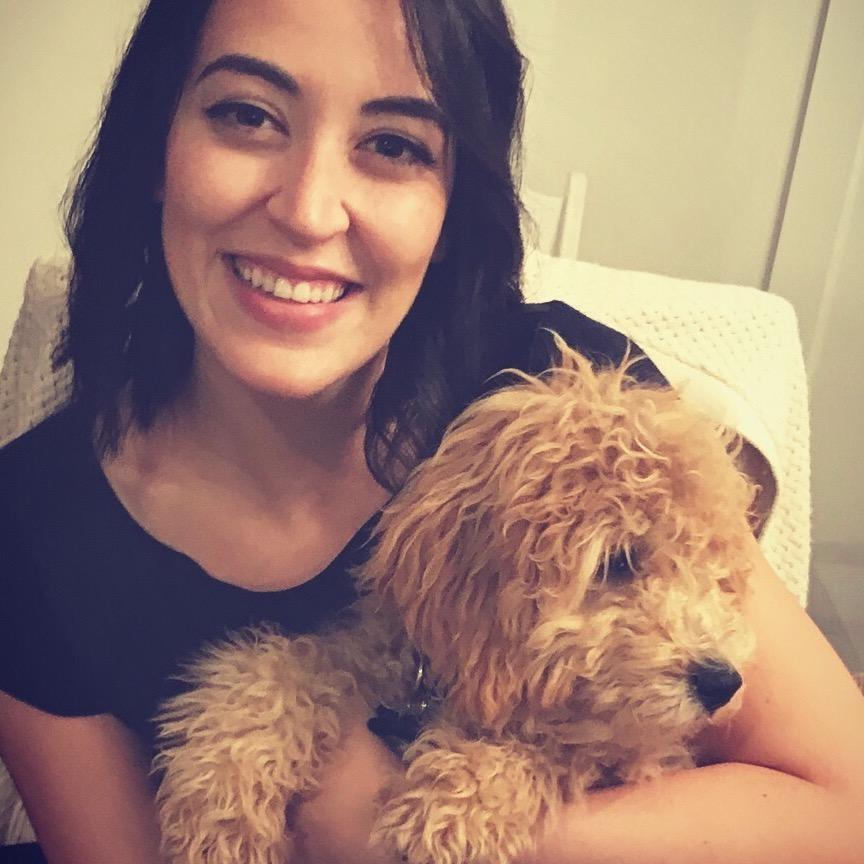 dog walker Ines