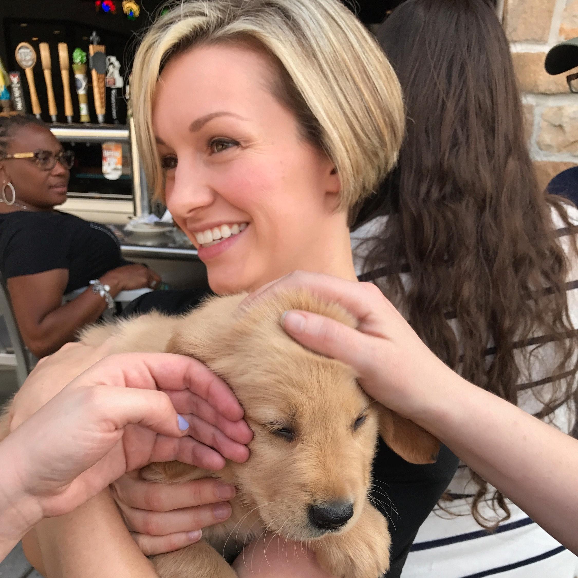 dog walker Katey