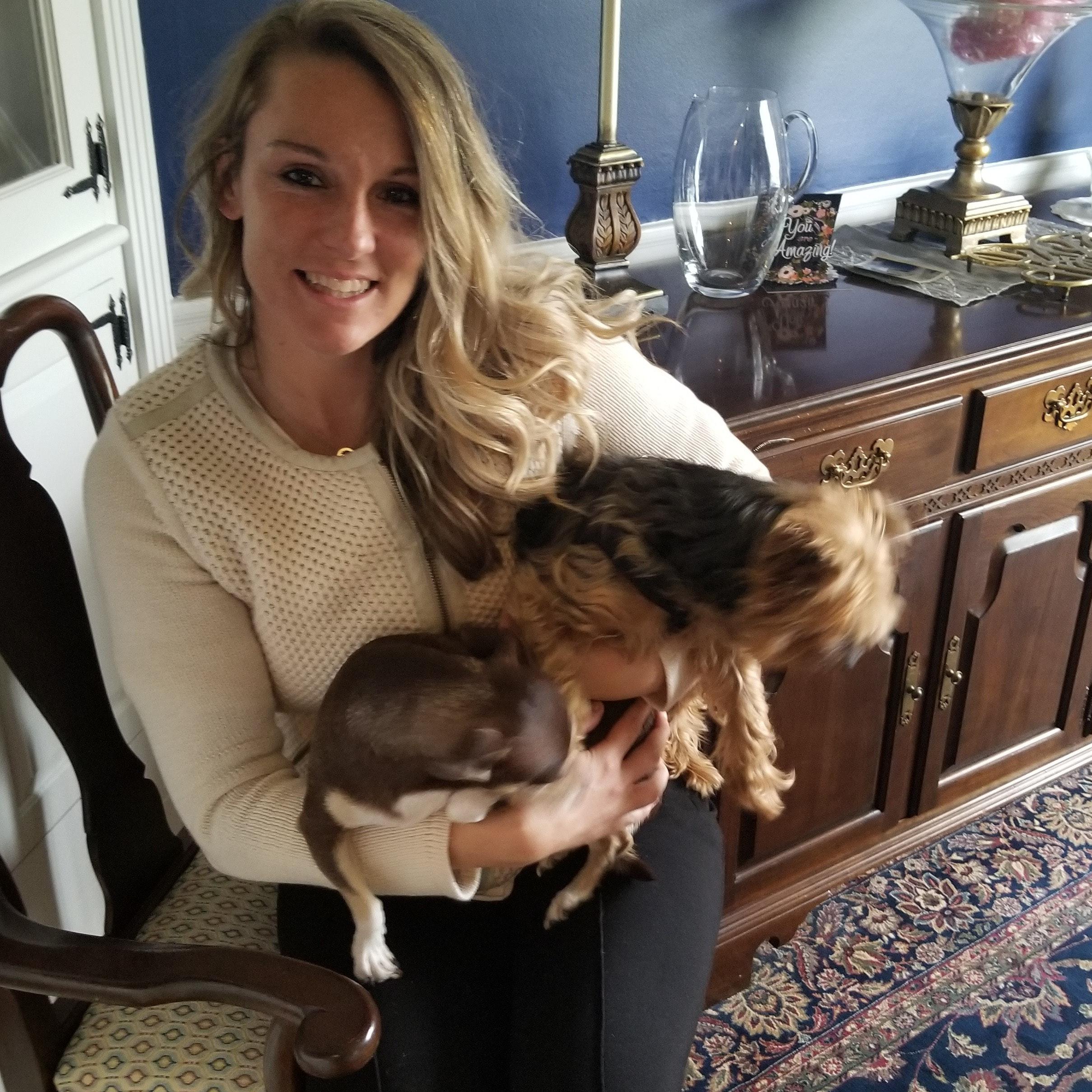 dog walker Carolyn