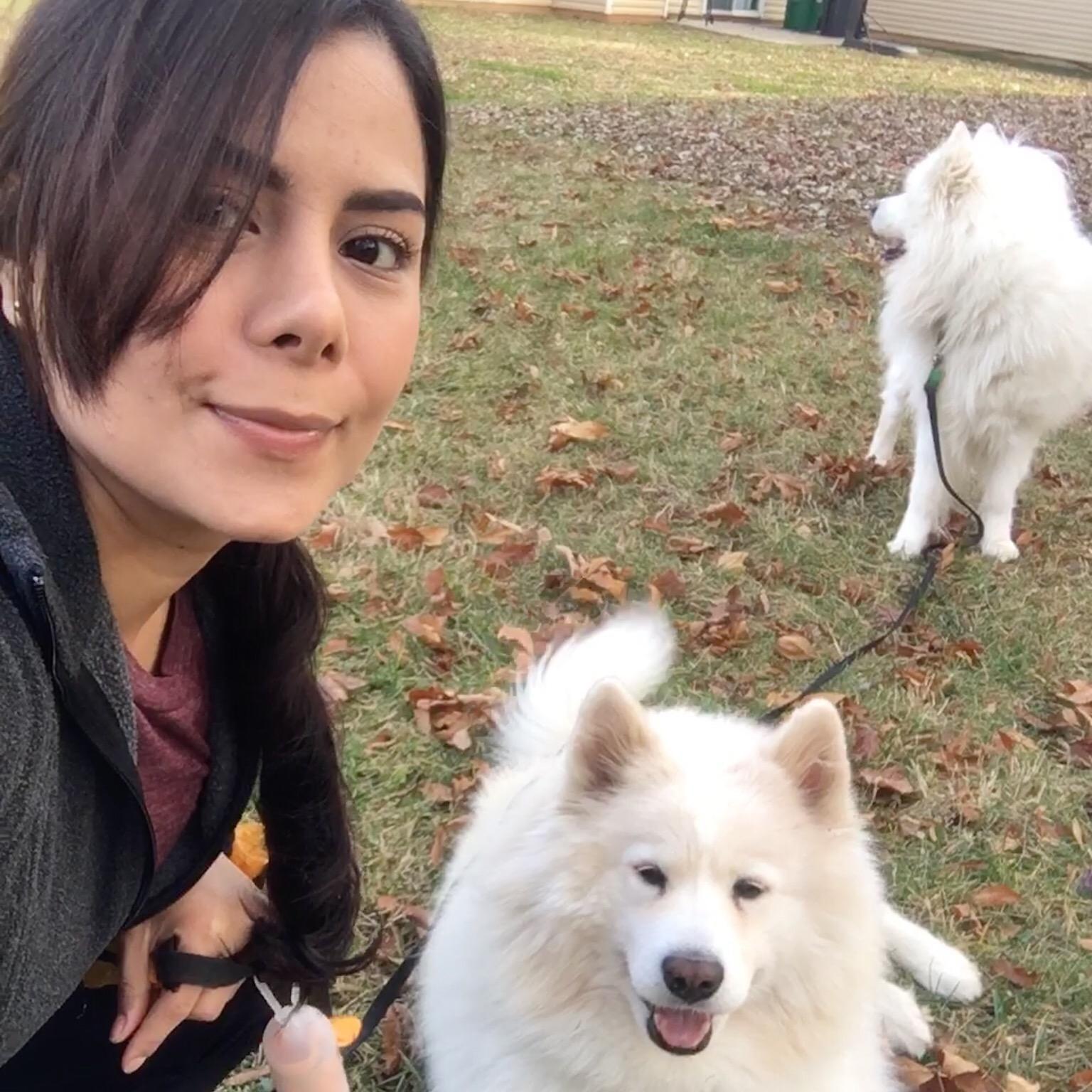 dog walker Sandra