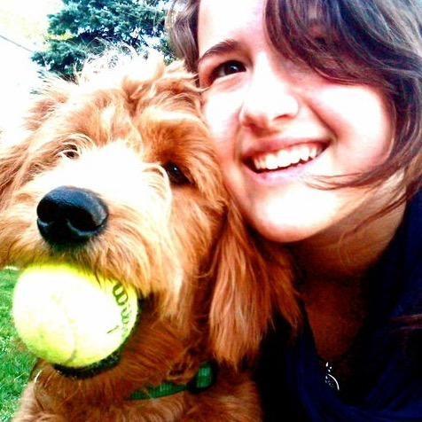 dog walker Eva