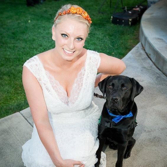 dog walker Shayna