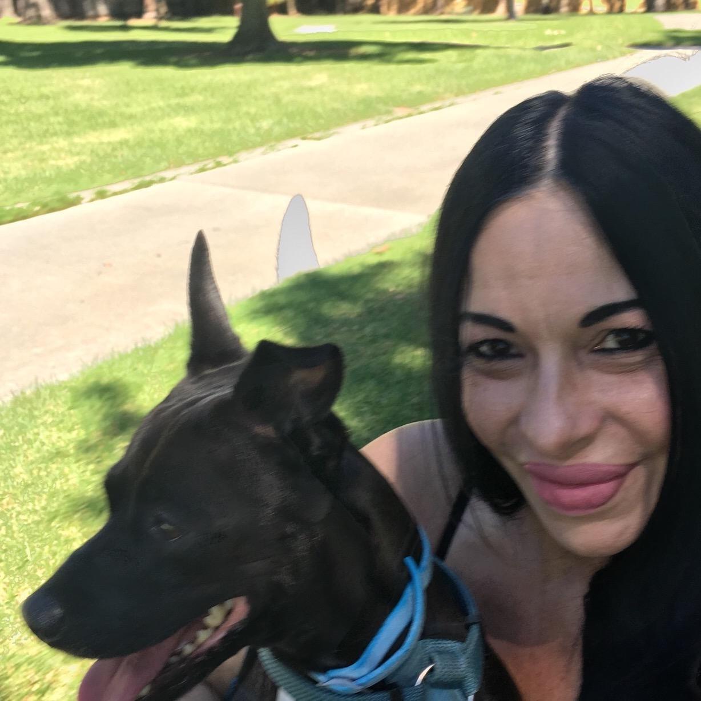dog walker Rosita