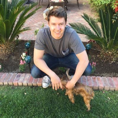 dog walker Chad