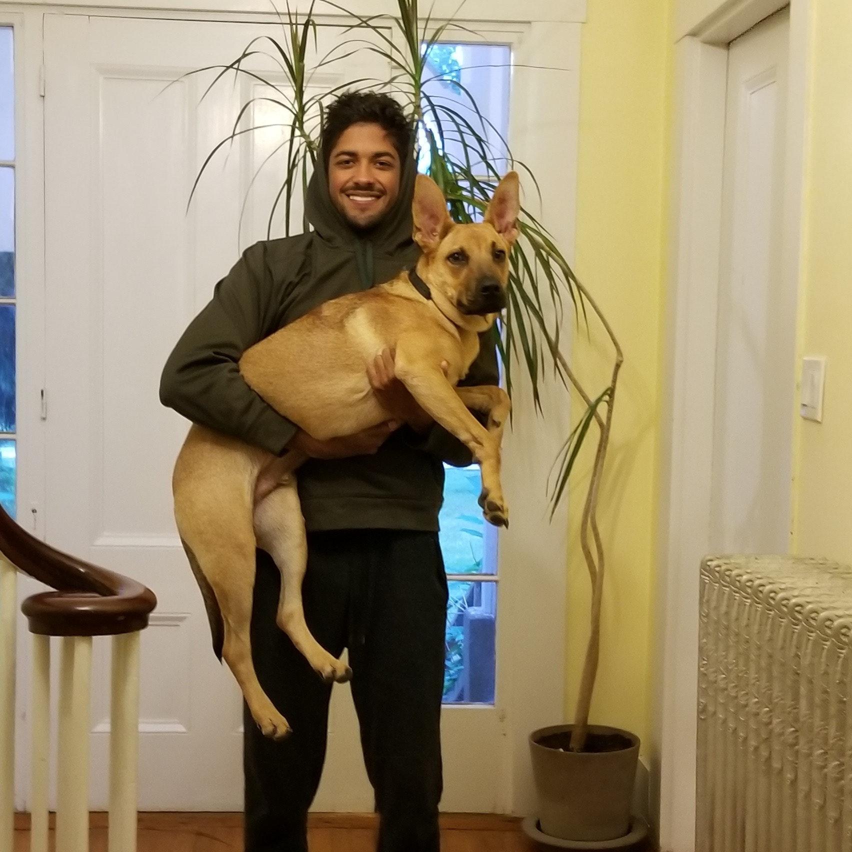 dog walker Brandyn