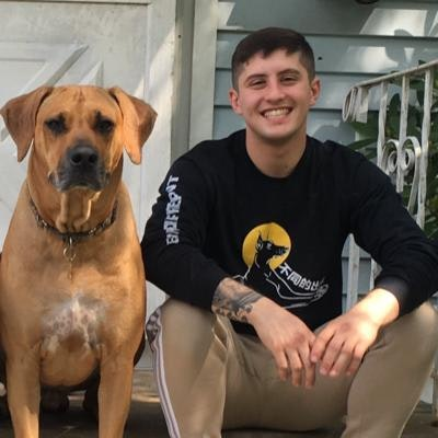 Brandon's dog boarding