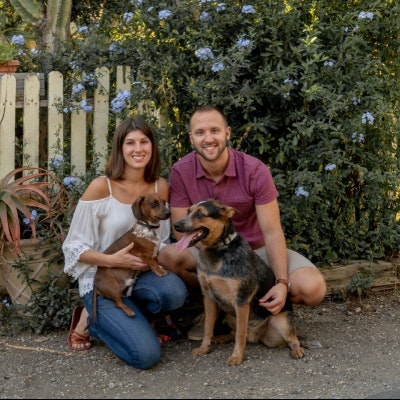 Zachary & Brittany's dog boarding