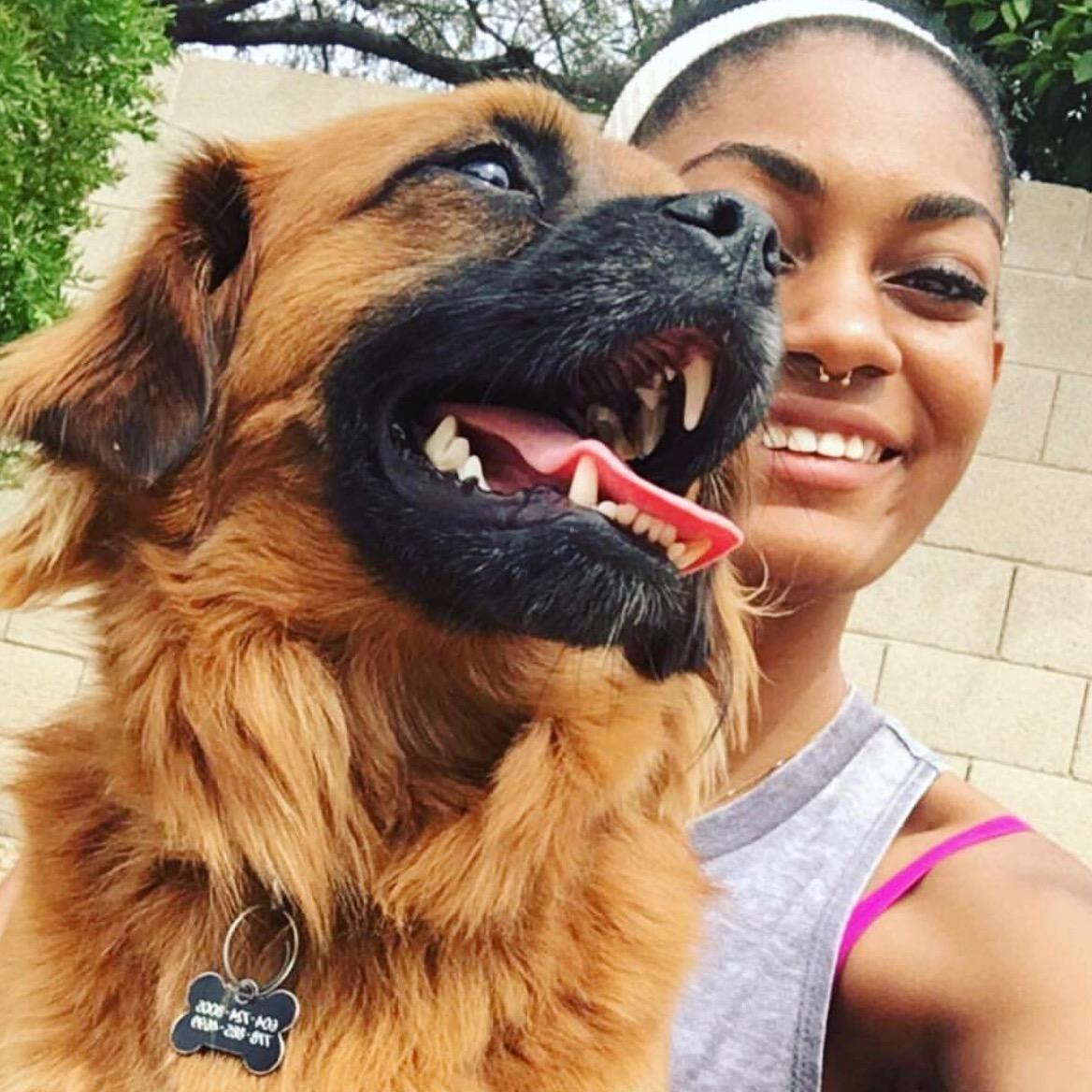 dog walker Jaida