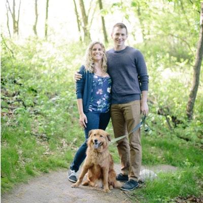 pet sitter Andrew & Emily