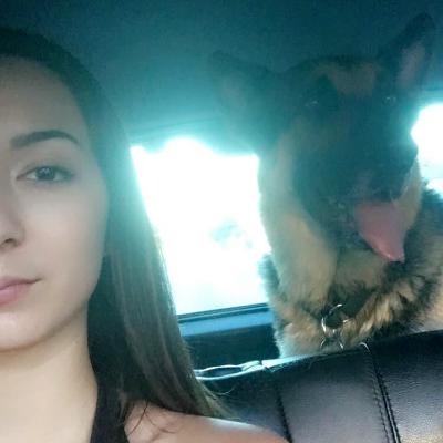 dog walker Clarissa